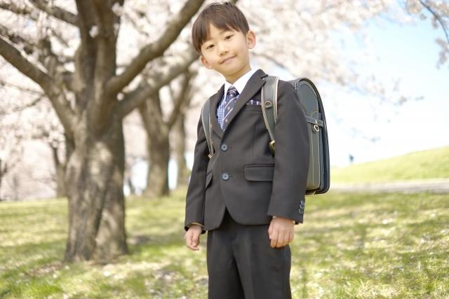 入学式の男子の服装