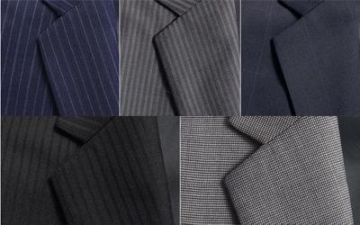 スーツの色と柄