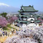 弘前桜祭り2018開花と満開予想!日程や見頃期間の混雑や駐車場も