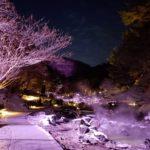 西の河原公園(草津温泉)夜のライトアップ時間|時期や期間は?