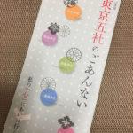 東京五社巡りの正しい順番や効率のよいルートの所要時間(地図)